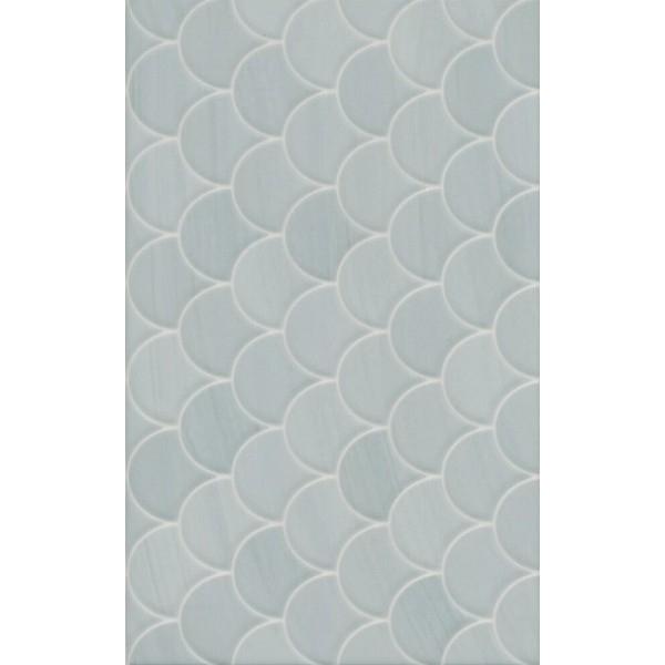 Керамическая плитка Kerama Marazzi Сияние голубой структура настенная 25х40 см