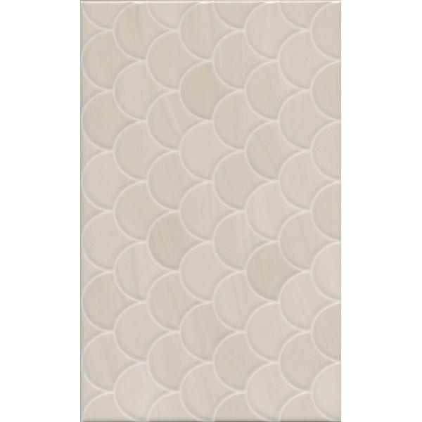 Керамическая плитка Kerama Marazzi Сияние беж структура настенная 25х40 см керамическая плитка kerama marazzi феличе 6193 25х40 настенная