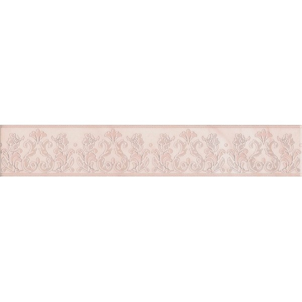 Керамический бордюр Kerama Marazzi Флораль HGD/A345/15117 7,2х40 см стоимость