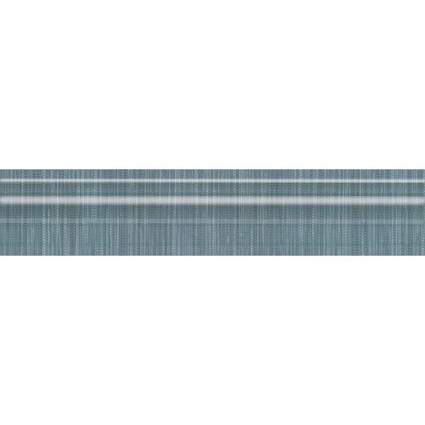 Керамический бордюр Kerama Marazzi Пальмовый лес синий 5,5х25 см недорого