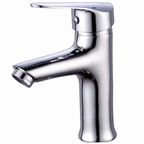 Смеситель для раковины River Lux R10-1 10000003156 Хром смеситель для ванны river lux v10 3 10000003159 хром