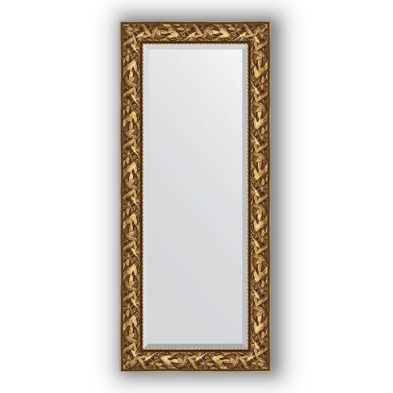 Зеркало Evoform Exclusive 149х64 Травленое серебро фото
