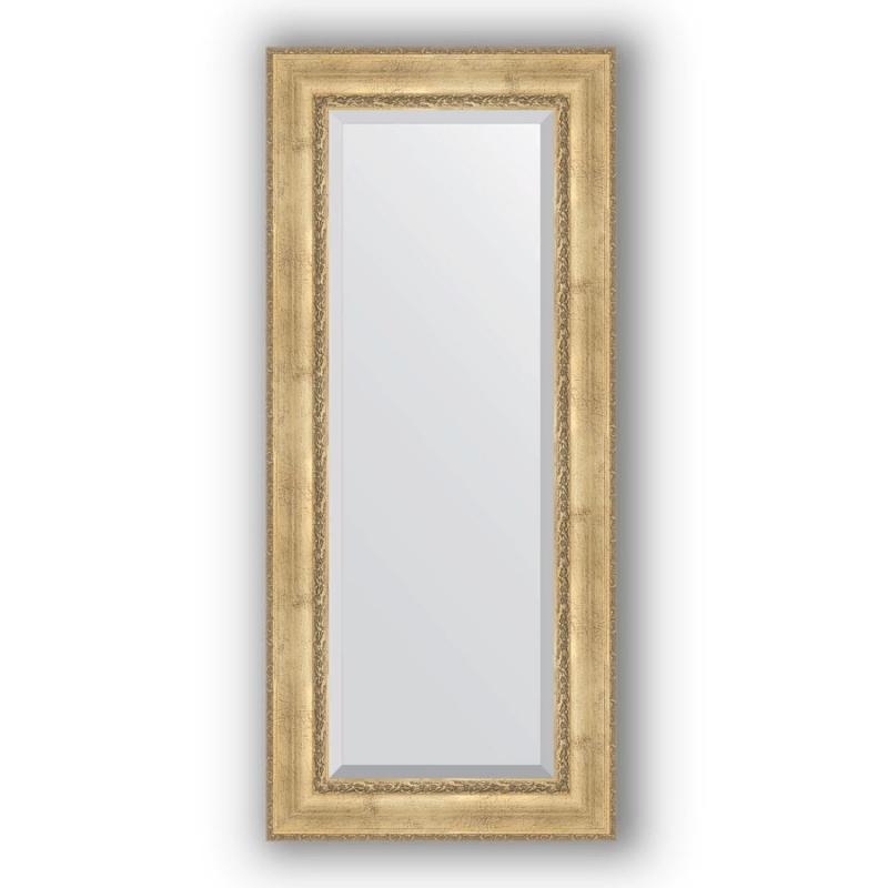 Зеркало Evoform Exclusive 152х67 Состаренное серебро с орнаментом фото