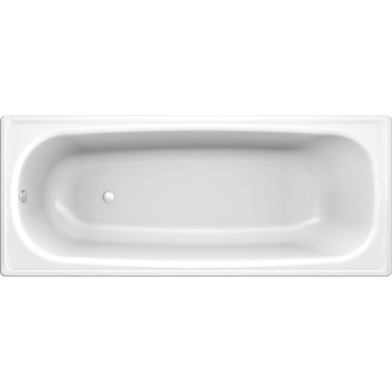 Стальная ванна Koller Pool 160x70E B60E1200E без антискользящего покрытия