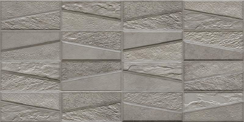 цена на Керамический декор Ibero Materika Tektonia Dark Grey 31.6x63.5см