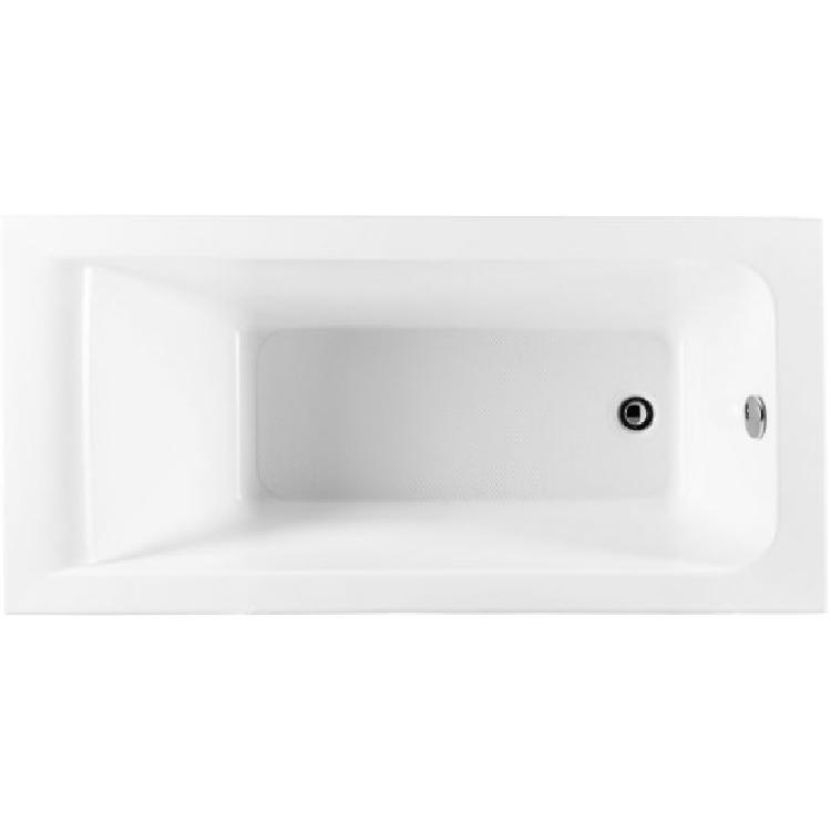 Акриловая ванна Aquanet Bright 155x70 без гидромассажа акриловая ванна 190x100 см aquanet vega 00205556