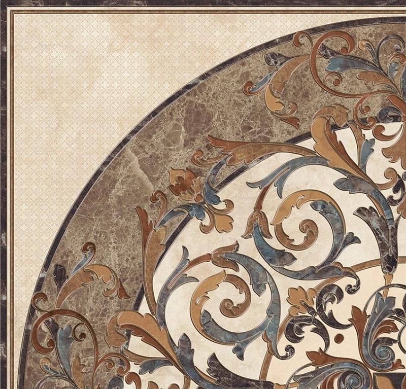 купить Керамический декор Pamesa Ceramica Atrium Mys Dec. Giro Jasper Marfil Rect. 60x60см онлайн