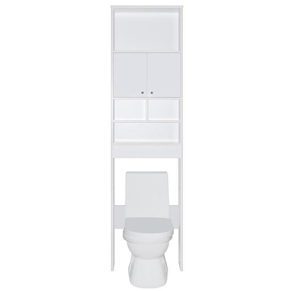 Шкаф пенал Style Line 55 АА00-000059 над унитазом Белый