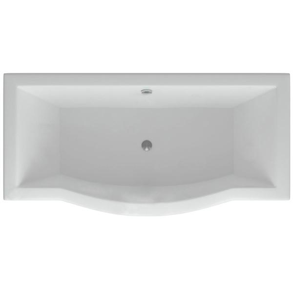 Акриловая ванна Акватек Гелиос 180х90 с гидромассажем Koller