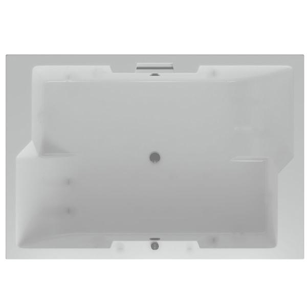 Фото - Акриловая ванна Акватек Дорадо 190х130 с гидромассажем Koller акриловая ванна акватек феникс 190х90 с гидромассажем koller
