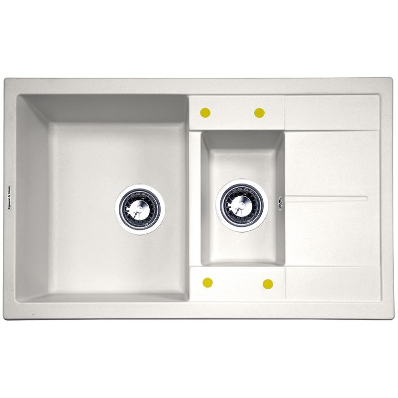 Кухонная мойка Zigmund&Shtain RECHTECK 780.2 Млечный путь zigmund amp shtain rechteck 645 млечный пут