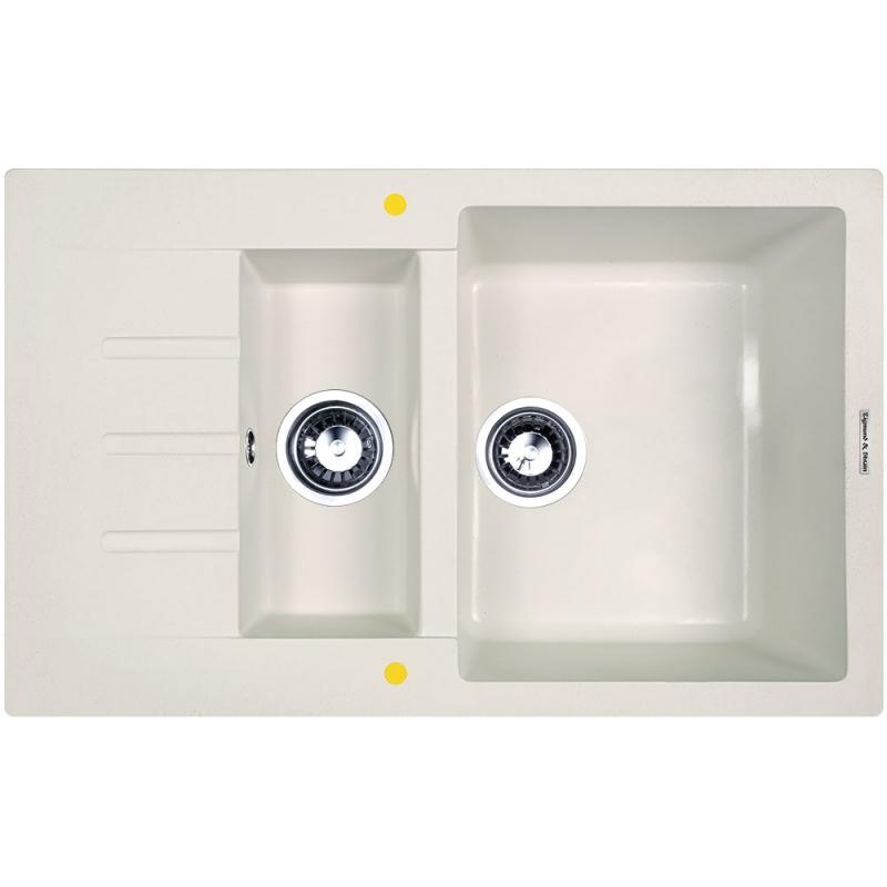Кухонная мойка Zigmund&Shtain RECHTECK 775.2 Речной песок