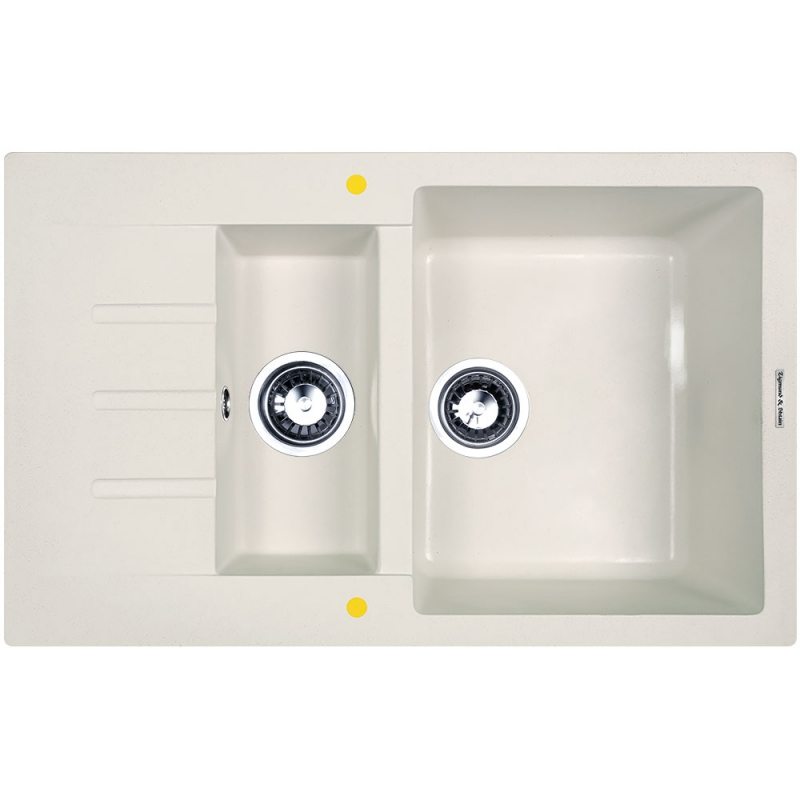 Кухонная мойка Zigmund&Shtain RECHTECK 775.2 Млечный путь zigmund amp shtain rechteck 645 млечный пут
