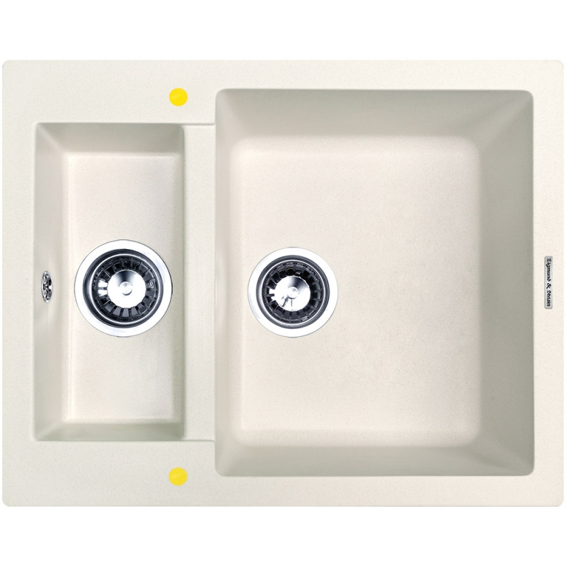 Кухонная мойка Zigmund&Shtain RECHTECK 600.2 Речной песок