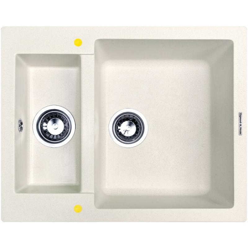 Кухонная мойка Zigmund&Shtain RECHTECK 600.2 Каменная соль zigmund amp shtain rechteck 775 каменная соль