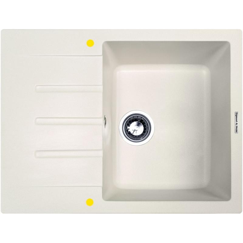 Кухонная мойка Zigmund&Shtain RECHTECK 645 Млечный путь zigmund amp shtain rechteck 645 млечный пут