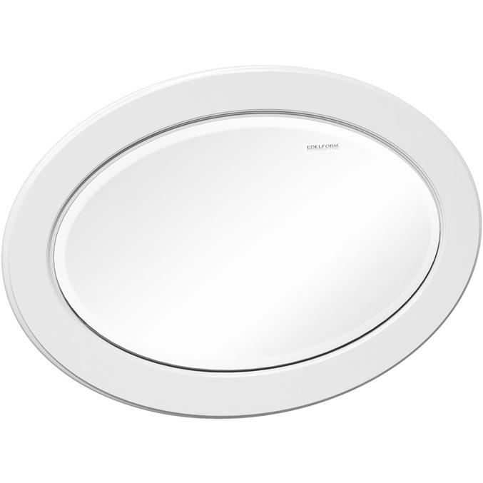 Зеркало Edelform Decora 100 с подсветкой Белое