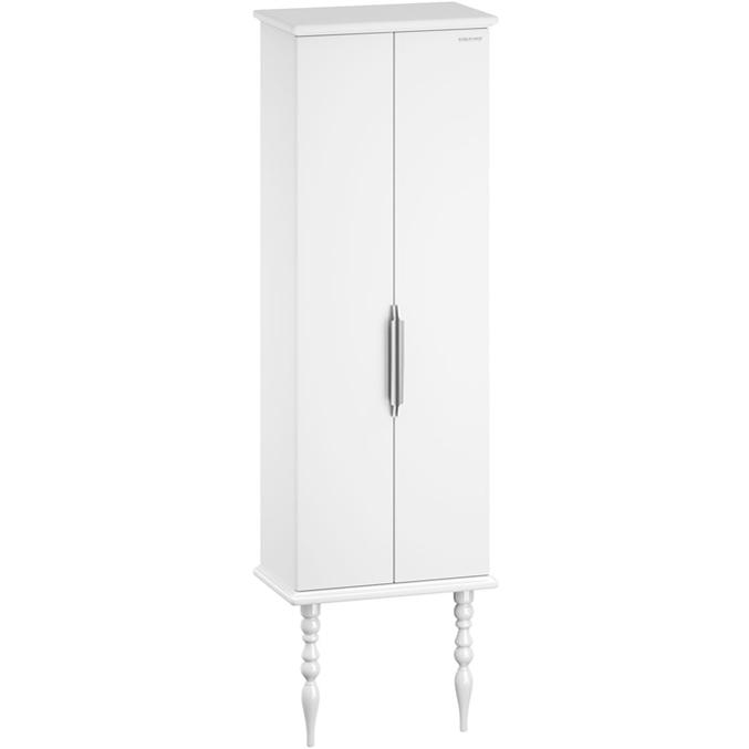 цена на Шкаф пенал Edelform Decora 60 Белый глянец