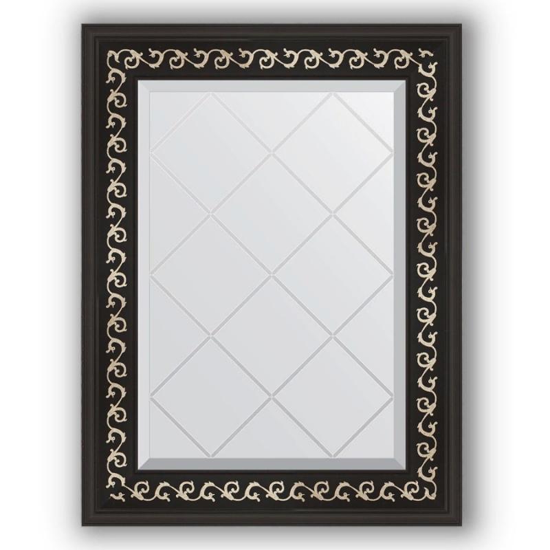 Зеркало Evoform Exclusive-G 72х55 Виньетка античная латунь зеркало evoform exclusive g 185х130 виньетка античная латунь