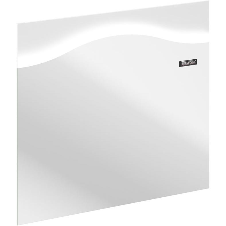 Зеркало Edelform Dolce 85 с подсветкой Белый глянец