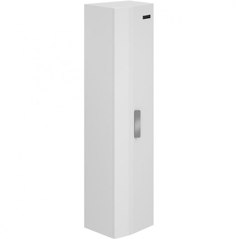 цена на Шкаф пенал Edelform Forte 35 подвесной Белый глянец