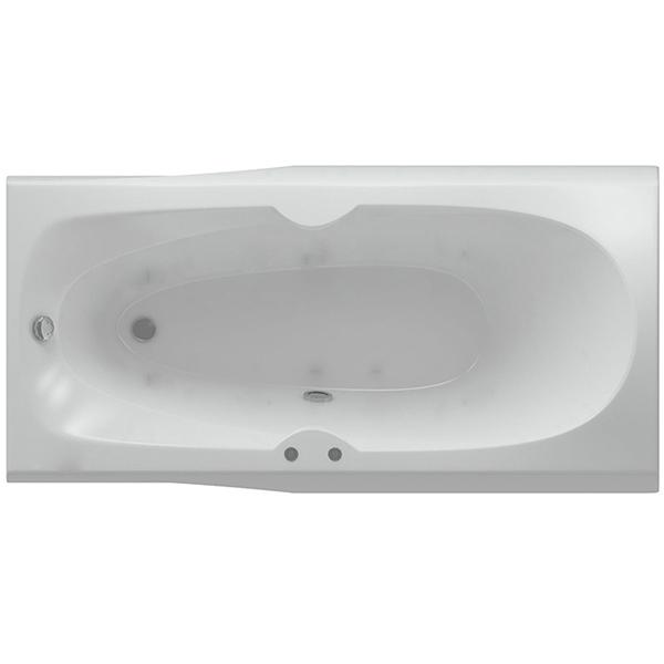 цена Акриловая ванна Акватек Европа 180х80 с гидромассажем плоские форсунки Бронза онлайн в 2017 году