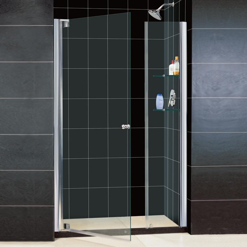 Душевая дверь в нишу RGW Hotel HO-05 120 профиль Хром стекло прозрачное душевая дверь в нишу rgw hotel ho 05 130 профиль хром стекло прозрачное