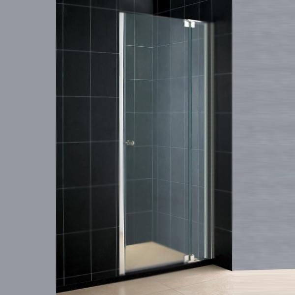 Душевая дверь в нишу RGW Hotel HO-06 90 профиль Хром стекло прозрачное душевая дверь в нишу rgw hotel ho 05 130 профиль хром стекло прозрачное