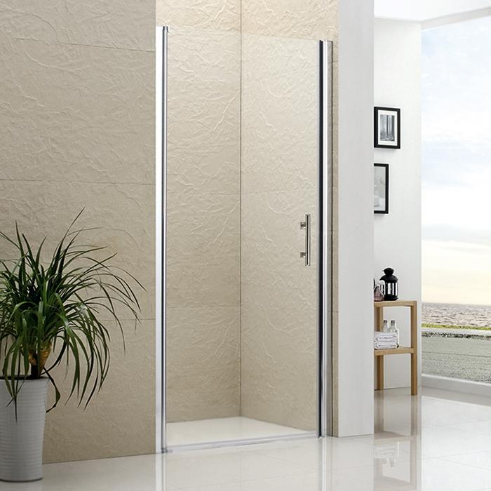 Душевая дверь в нишу RGW Leipzig LE-01 70 профиль Хром стекло прозрачное душевая дверь в нишу rgw leipzig le 03 80 профиль хром стекло прозрачное