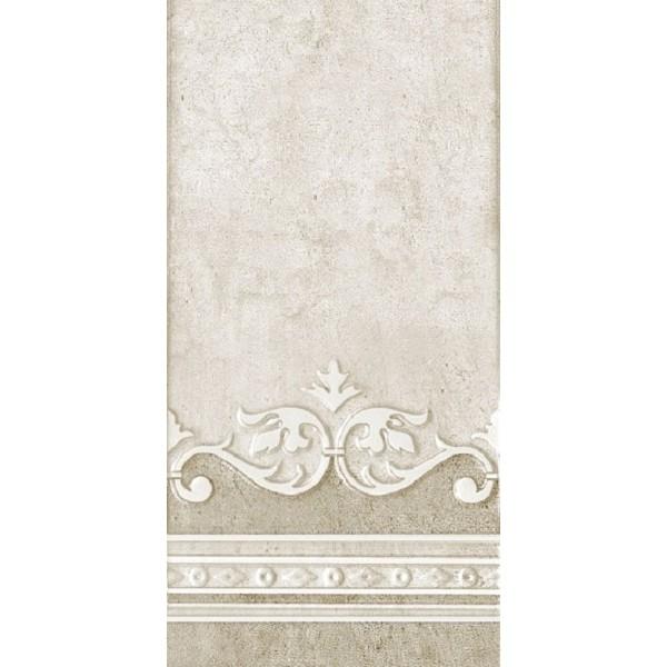 Керамическая плитка Нефрит Керамика Преза светло-табачный с рисунком 08-10-17-1016 настенная 20х40 см фото