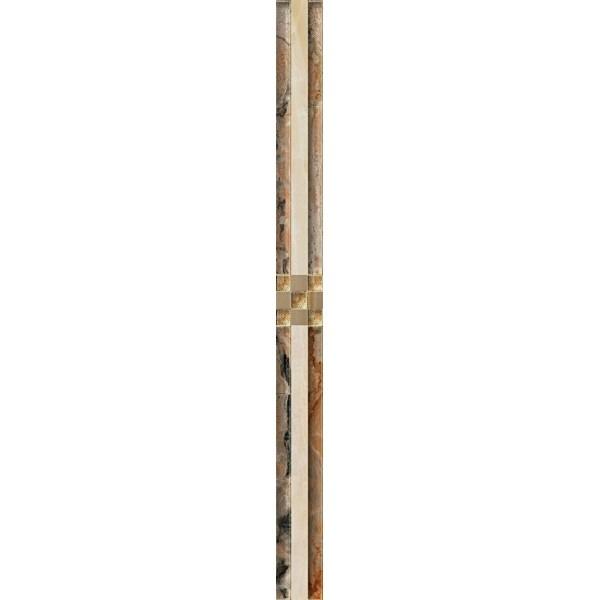 Керамический бордюр Нефрит Керамика Салерно 47-05-11-503 4х50 см цена