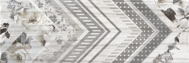 Керамический декор Rocersa Hermes Dec Grey (mix) 20x60см стоимость