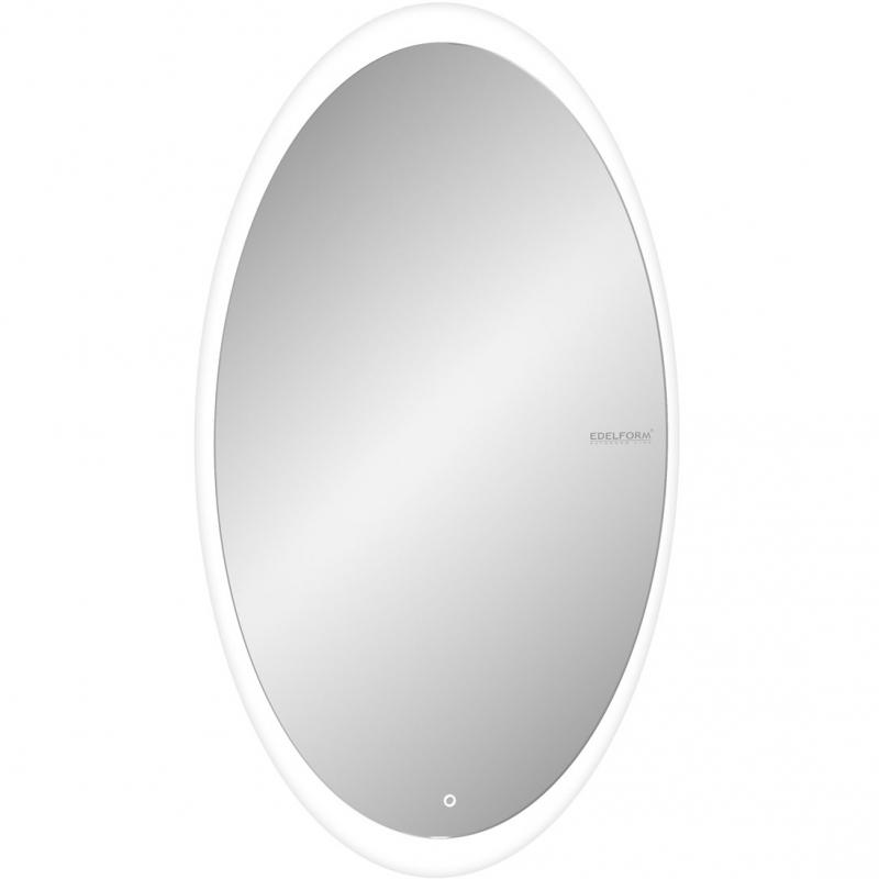 Зеркало Edelform Reflex Led 60 с подсветкой с сенсорным выключателем зеркало edelform fancy led 80 с подсветкой с сенсорным выключателем