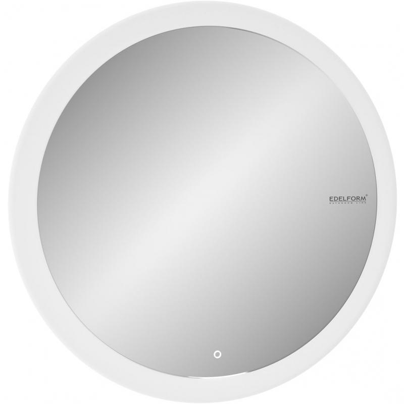 Зеркало Edelform Seele Led 77 с подсветкой с сенсорным выключателем зеркало edelform fancy led 80 с подсветкой с сенсорным выключателем