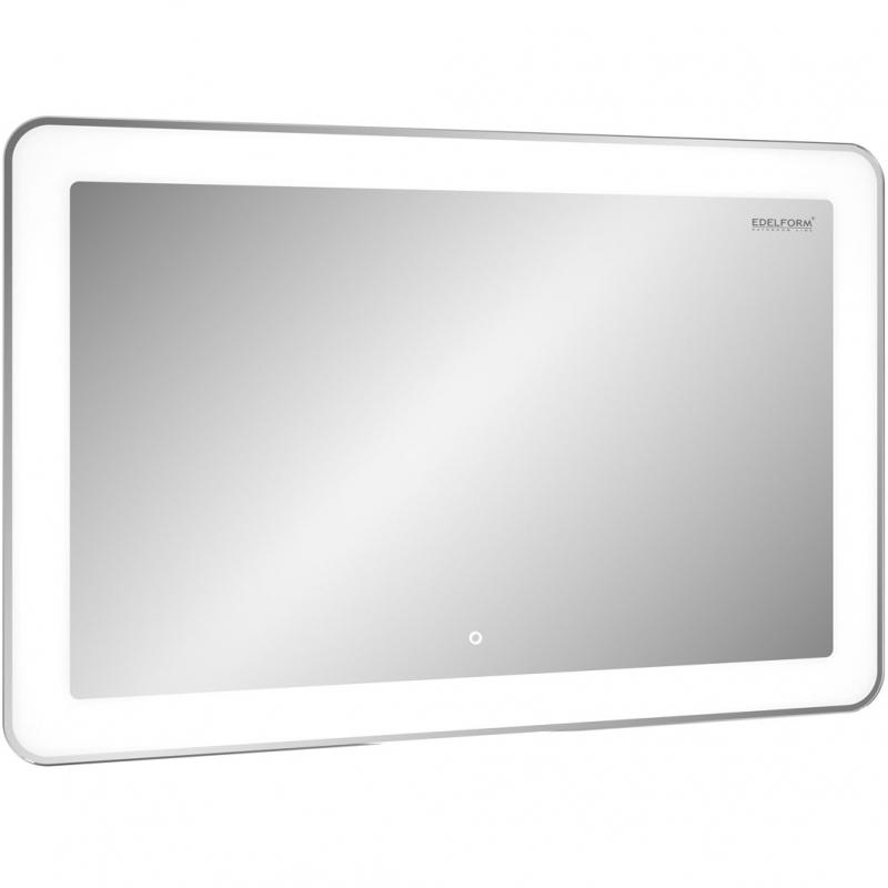 Зеркало Edelform Spark Led 105 с подсветкой с сенсорным выключателем зеркало edelform fancy led 80 с подсветкой с сенсорным выключателем