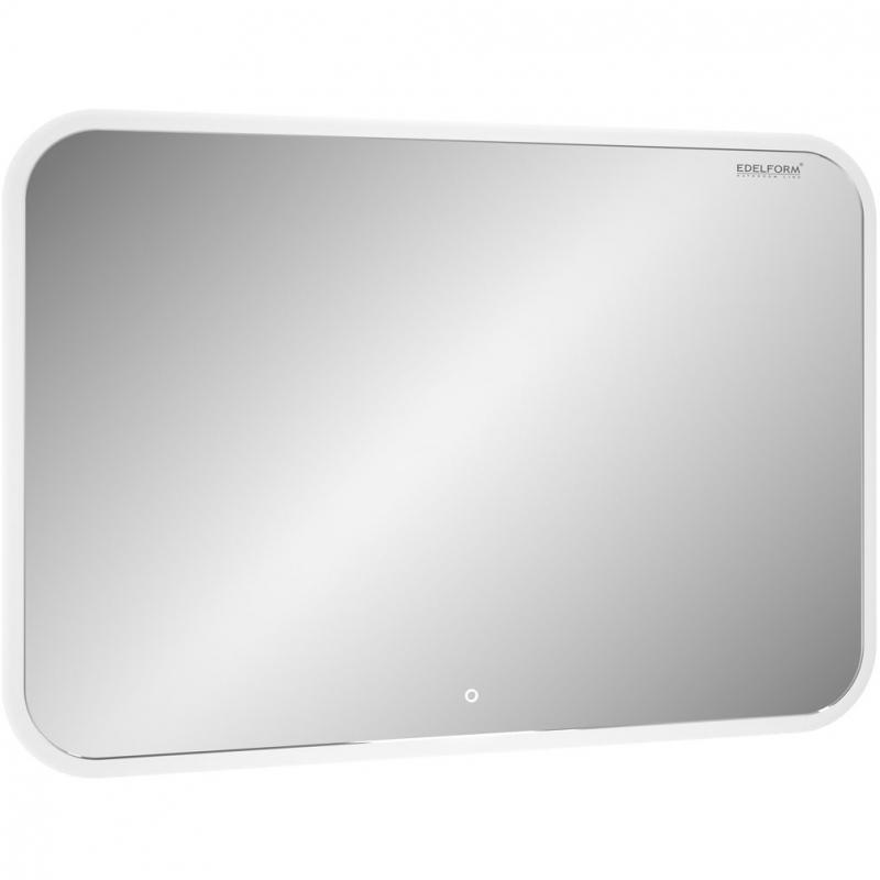 Зеркало Edelform Мodest Led 100 с подсветкой с сенсорным выключателем зеркало edelform fancy led 80 с подсветкой с сенсорным выключателем