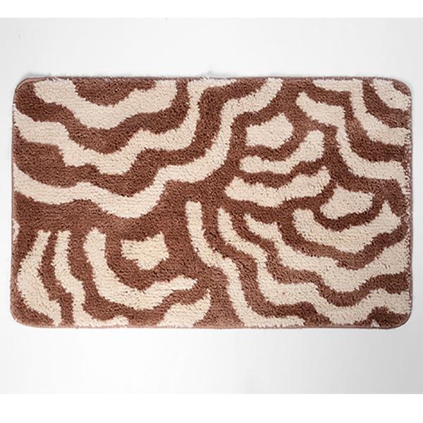 коврик противоскользящий joyarty композиция на песке для ванной сауны бассейна 75х45 см Коврик для ванной комнаты WasserKRAFT Donau BM-9401 Коричневый