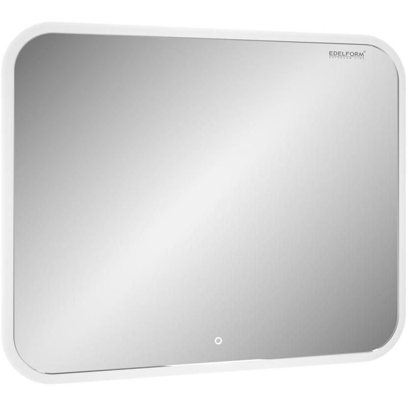 Зеркало Edelform Мodest Led 85 с подсветкой с сенсорным выключателем зеркало edelform fancy led 80 с подсветкой с сенсорным выключателем