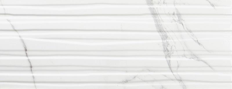 Керамическая плитка Azulev Calacatta Branches White Matt Slimrect настенная 24,2x64,2см