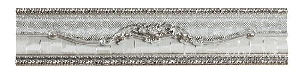 Бордюр Azulev Calacatta Delicius Listello White 7x24,2см стоимость