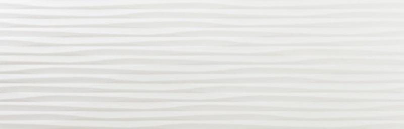 Керамическая плитка Azulev Luminor Blanco Mate Tress Slimrect настенная 29x89см