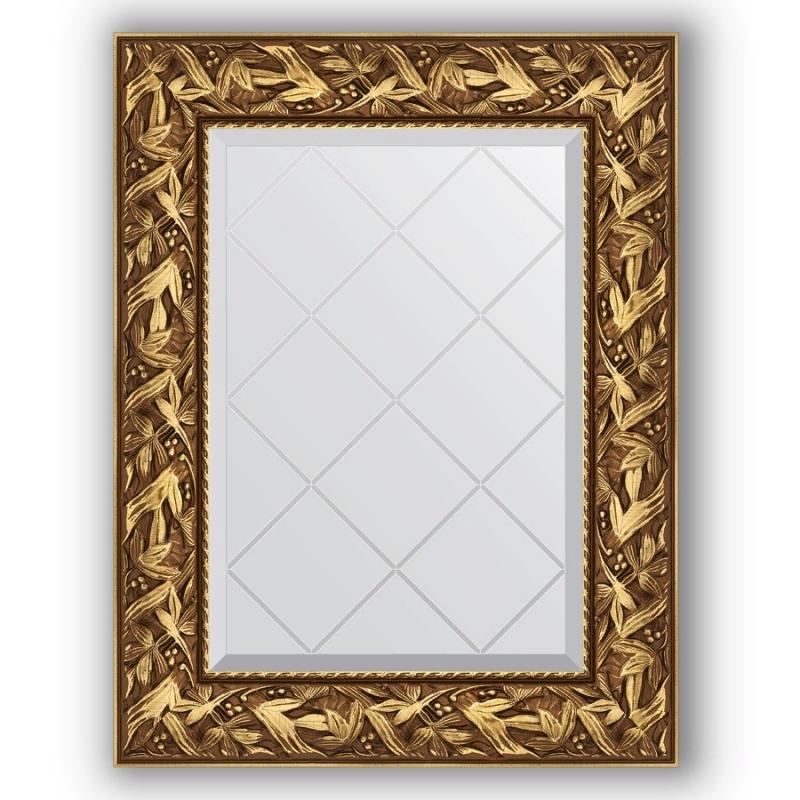 Зеркало Evoform Exclusive-G 76х59 Травленое серебро
