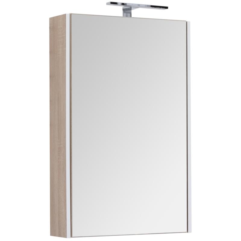 Зеркальный шкаф Aquanet Августа 58 210009 Дуб сонома