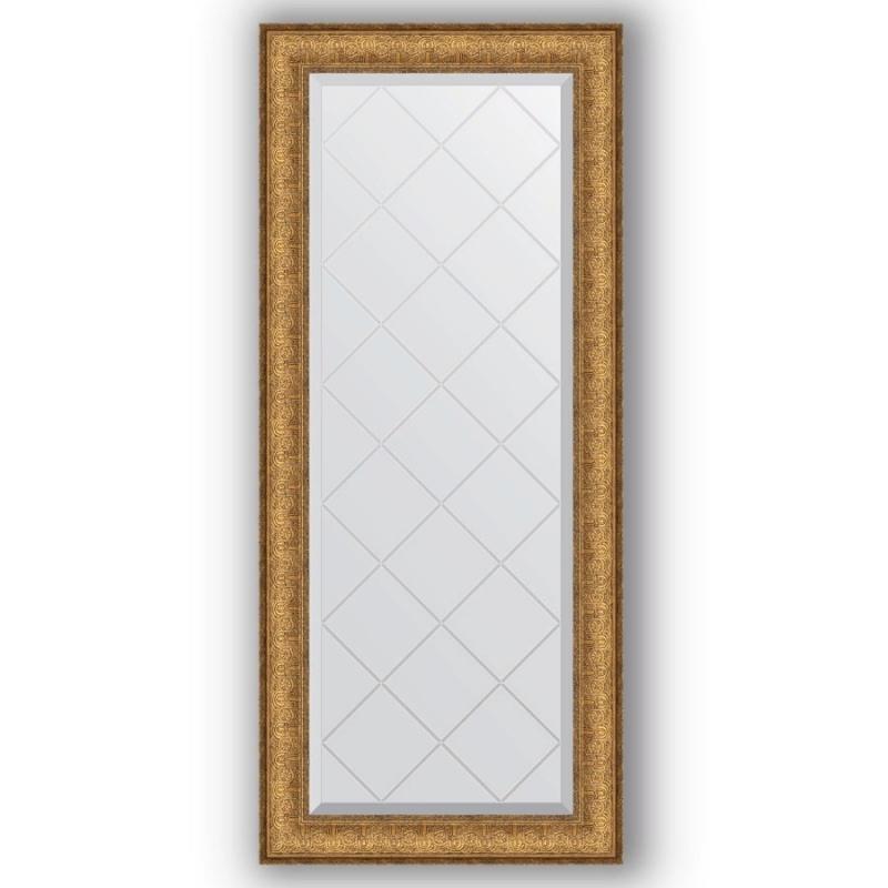 Зеркало Evoform Exclusive-G 123х54 Медный эльдорадо