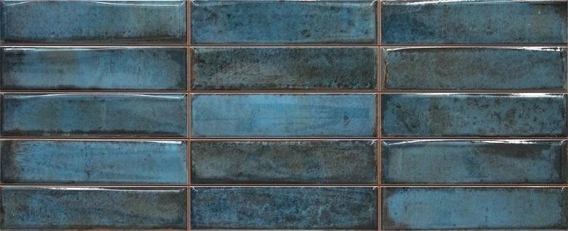 Керамическая плитка Cifre Montblanc Smart Blue настенная 20x50см цена