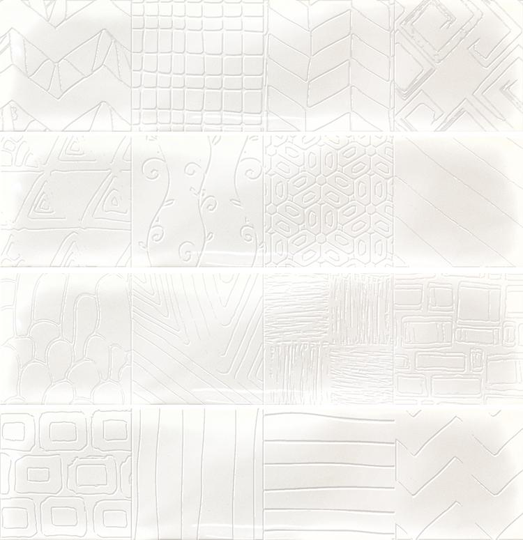Керамическая плитка Cifre Alchimia 2 Decor Glaciar настенная 7,5x30см керамическая плитка cifre alchimia 2 decor glaciar настенная 7 5x30см