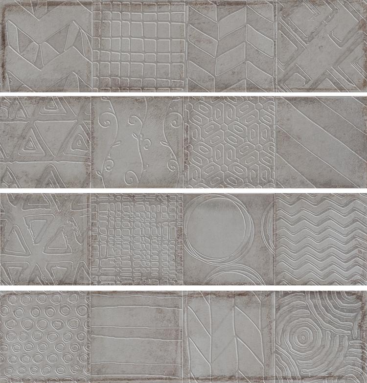 Керамическая плитка Cifre Alchimia 2 Decor Pearl настенная 7,5x30см керамическая плитка cifre alchimia 2 decor glaciar настенная 7 5x30см