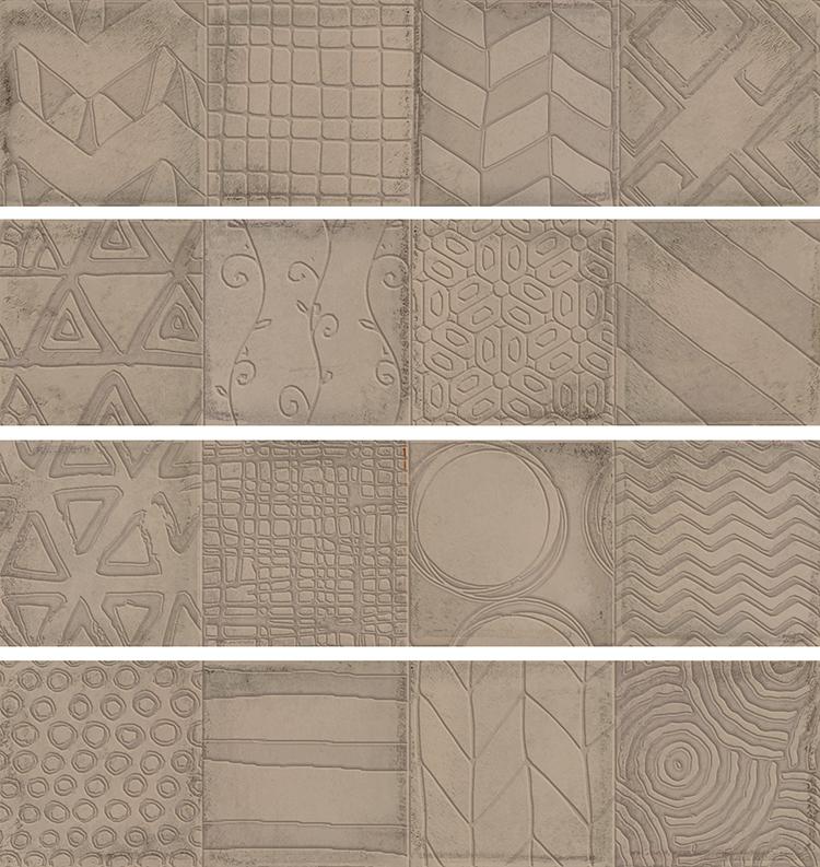 Керамическая плитка Cifre Alchimia 2 Decor Vison настенная 7,5x30см керамическая плитка cifre alchimia 2 decor glaciar настенная 7 5x30см