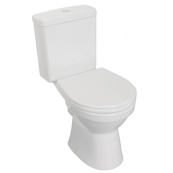 Унитаз-компакт Norm Eisberg Duroplast 9844B099-7202 с бачком и сиденьем Микролифт унитаз компакт напольный sanita виктория комфорт