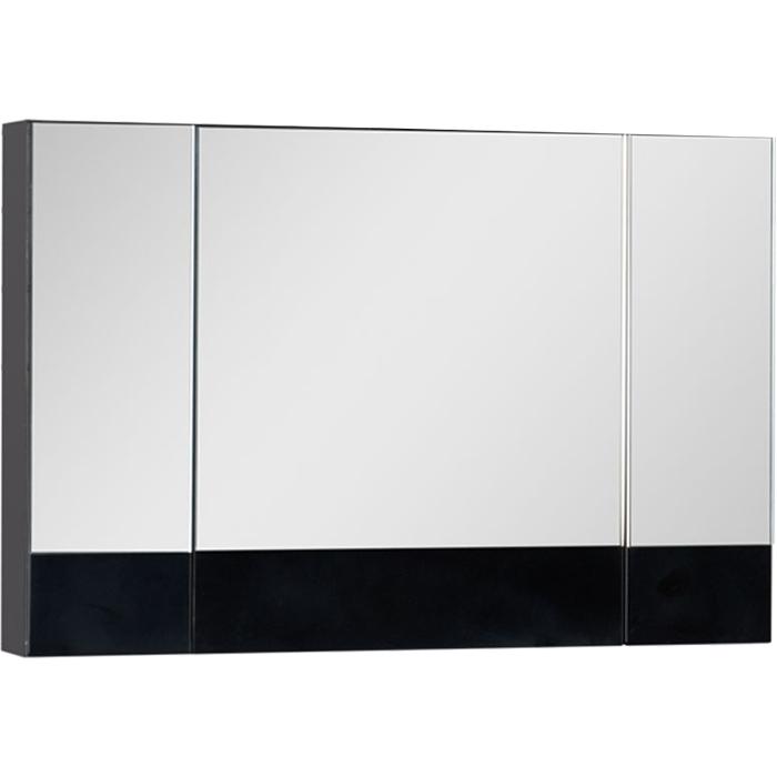 Зеркальный шкаф Aquanet Нота 100 168879 Черный